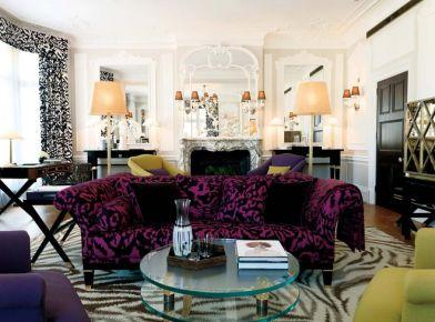 124平方米混搭风格三居室 混搭风格家庭装修案例