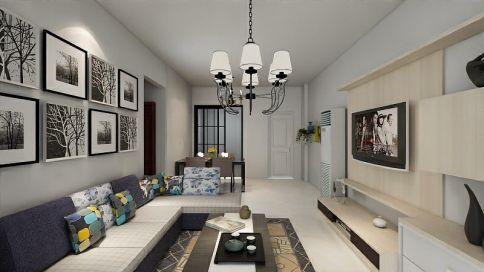 简约装修风格 二居室也可以满足大收纳!