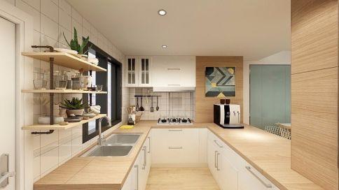 山泉居复式装修设计 复式简约气质美宅