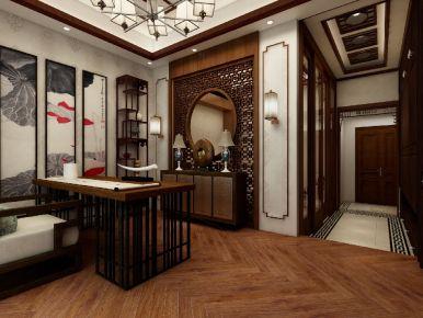 海印又一城中式风格公寓装修
