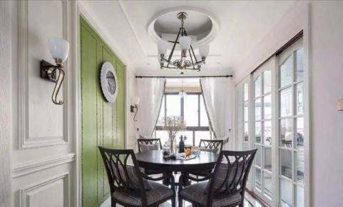 星河丹堤花园现代美式四居室装修