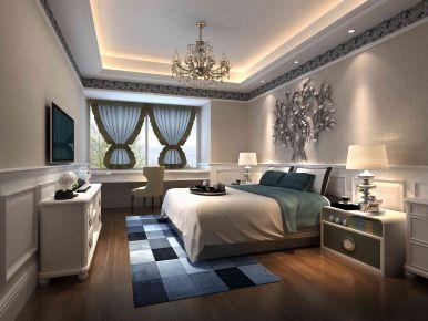 海沧欧式风格三居室装修 三居室欧式风格设计