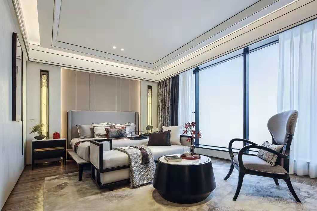海沧区京口岩现代三居室装修   三居室装修效果图欣赏