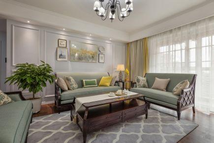亚太新城现代两居室装修