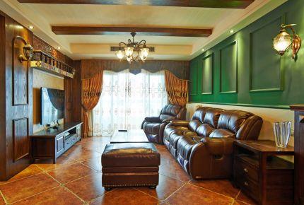 亚太新城美式两居室装修