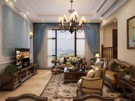 天安美式别墅装修 尽享复古年代感
