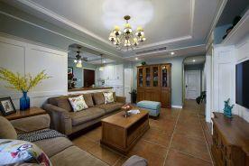 广州保利中航城欧式三居室装修 欧式风格装修效果图