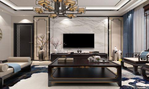 华润橡树湾中式风格三居室装修