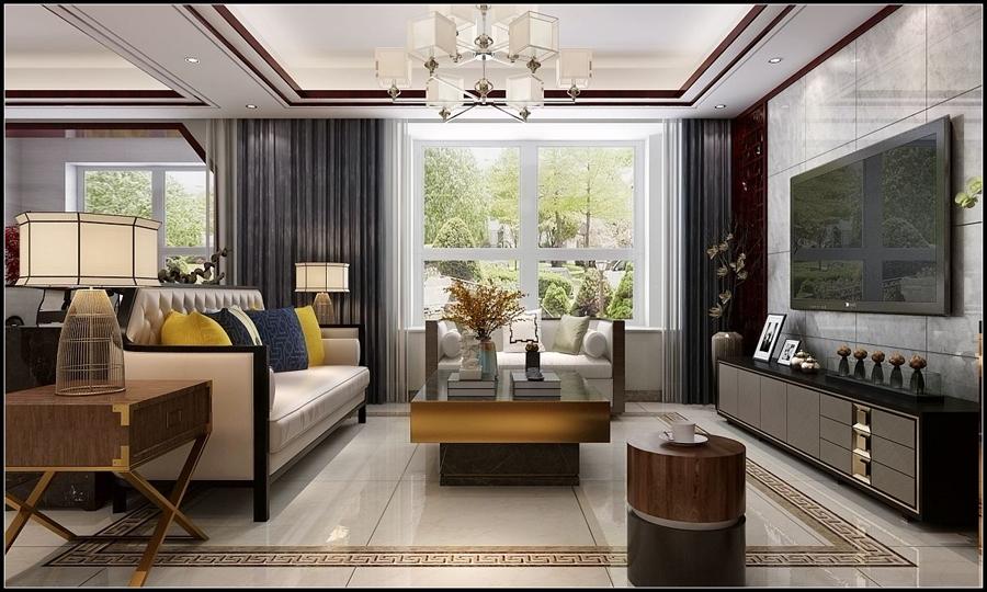 福州大儒世家中式风格四居室装修 中式风格装修案例