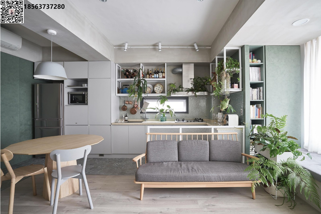 中海国际简约三居室装修设计