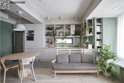 济南中海国际简约三居室装修设计 现代简约风格装修案例