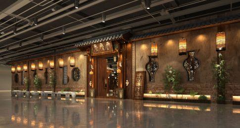 天津河东区卫嘴儿酒店装修效果图,用心营造美的体验