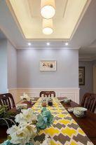 广州花都区万达现代三居室装修效果图,客厅颜色搭配妙极