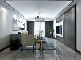 万达城现代三居室装修设计