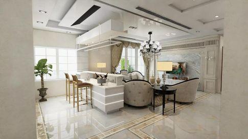 广州花都区万达b3欧式四居室装修 欧式风格四居室装修案例