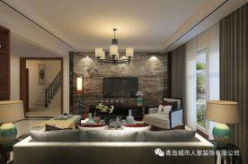 青岛城市人家四居室装修效果图赏析 四居室装修设计