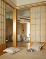 常州擎天半岛和风两居室装修 日式风格装修案例