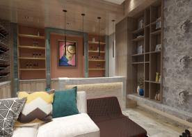 翡翠园创意混搭别墅设计效果图