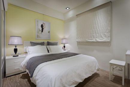 常州莱蒙城简欧风两居室装修案例 二居室装修效果图