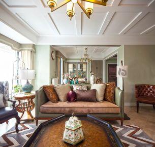 港隆城现代三居室装修案例