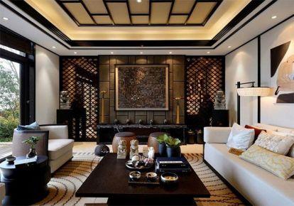 太平洋城中城中式三居室装修案例