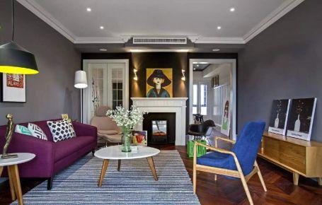 长沙新城国际花都中式风格三居室装修,简约而不简单