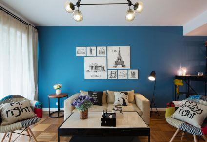 长沙八方小区欧式风格三居室装修 三居室装修效果图
