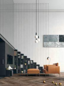 金港华庭现代三居室效果图