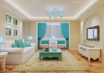 上置香岛御墅地中海两居室装修设计