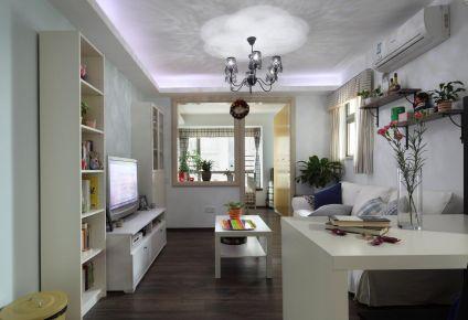 长沙湘江世纪城欧式风格装修案例 三居室装修效果图