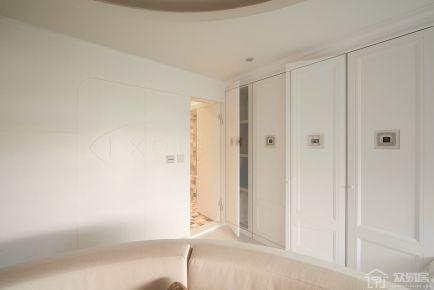 烟台中海国际田园风格装修设计 三居室装修设计效果图