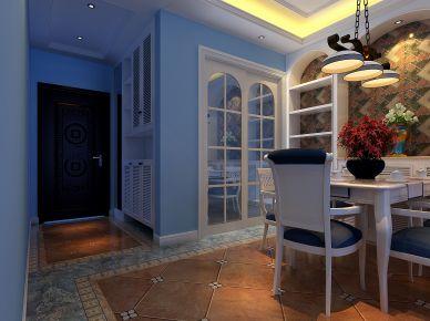 深圳港隆城新中式风格四居室装修效果图 四居室装修设计案例