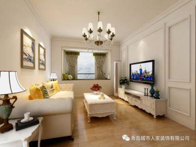 青岛凤凰城欧式风格三居室装修,低调奢华