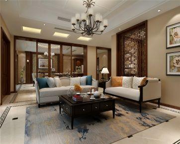 上海九龙仓兰宫别墅装修多少钱 中式别墅装修案例