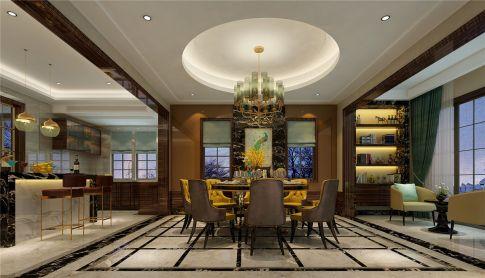 上海圣堡别墅项目装修案例 现代风格别墅装修设计