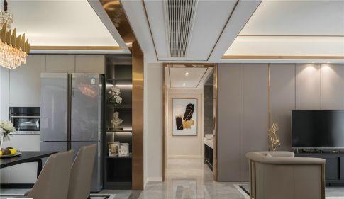 宁波光明领尚三居室创意混搭装修效果图 创意混搭三居室装修案例