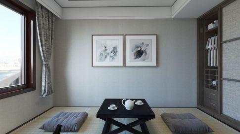 东方港城新中式三居室装修效果图,一起来感受浓浓的中国风