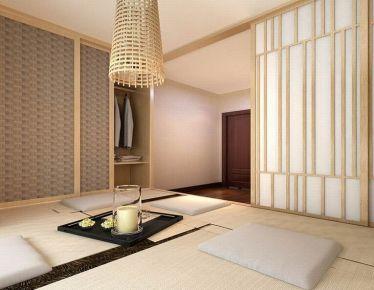 漳州兰溪湾日式简约三居室装修效果图,好喜欢全屋榻榻米的设计