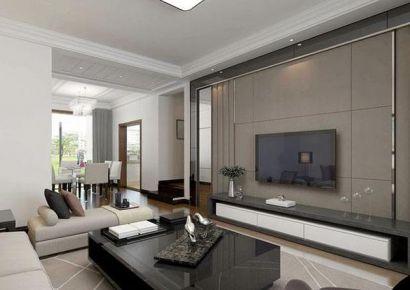 漳州广隆海尚首府现代简约风格三居室装修 现代简约三居室装修案例