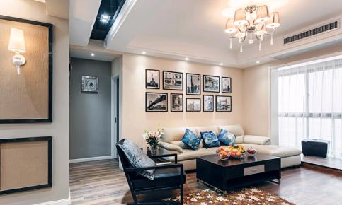现代风格三居室装修案例赏析