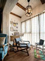 混搭法式风格三居室装修案例