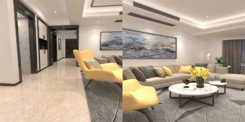 温州正茂大厦北欧三居室装修案例赏析