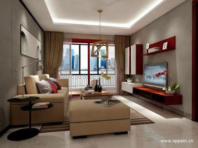 广州市现代风格三居室效果图赏析