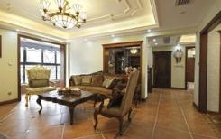 徐州美式风格三居室装修效果图赏析