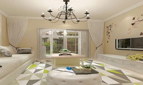 温州欧式风格大户型四居室装修案例