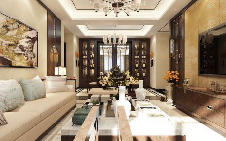 天津新梅江雅湖里中式设计方案