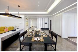 徐州现代风格四居室装修设计