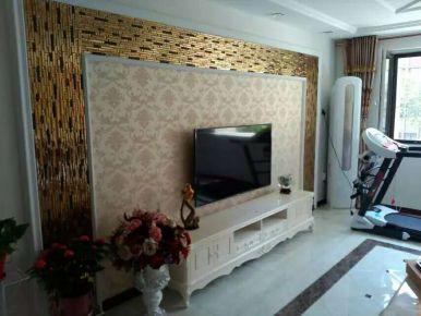 青岛欧式风格小三居室装修图片大全