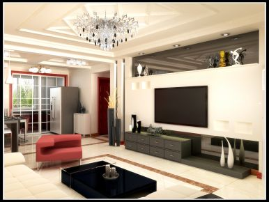 青岛现代风格三居室装修攻略大全