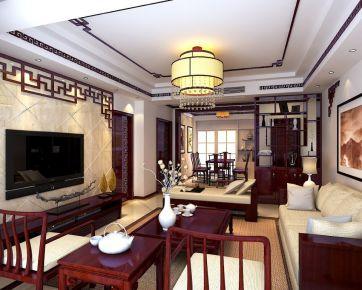 青岛中式风格小两居室装修图片赏析